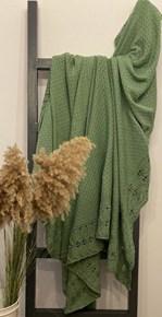 Yeşil Ajurlu Koltuk Şalı - CLB010SAL görseli