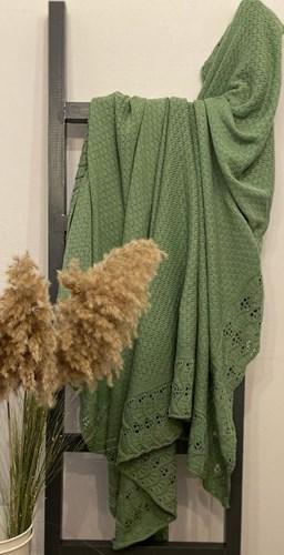 Yeşil Ajurlu Koltuk Şalı - CLB010SAL görseli, Picture 1