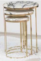 Alyans Zigon Gold Jelatin Krem Mermer - GRS-260 görseli, Picture 1