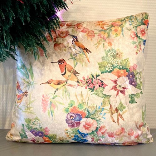 Garden Bird Kırlent Kılıfı - CLB01KRNT görseli, Picture 1