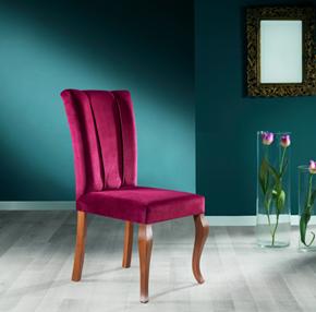 Asu Modern Ceviz Sandalye - ASU02CV görseli