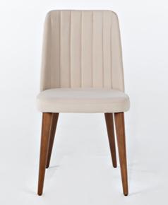 Yaprak Sandalye Krem - YPR01SNKR görseli