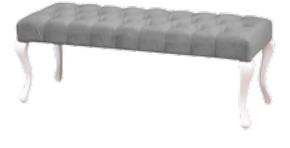 Kardelen Puf Beyaz (GRS-314) görseli