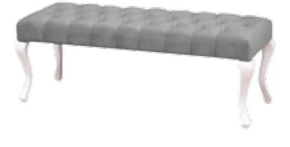 Kardelen Puf Beyaz (GRS-314) görseli, Picture 1