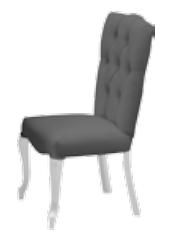 Azra Sandalye Ceviz - GRS-318 görseli