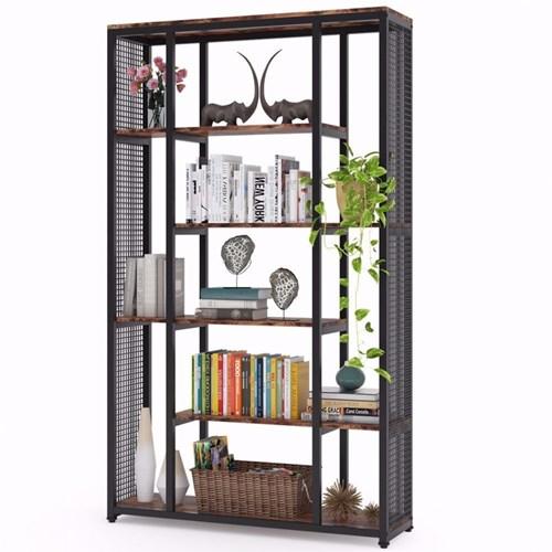 Zizuva 6 Raflı Modern Kitaplık - ZZ1000-V100834 görseli, Picture 3