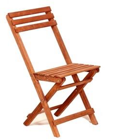 Zizuva Ahşap Katlanır Sandalye - ZZ5000-V100645 görseli