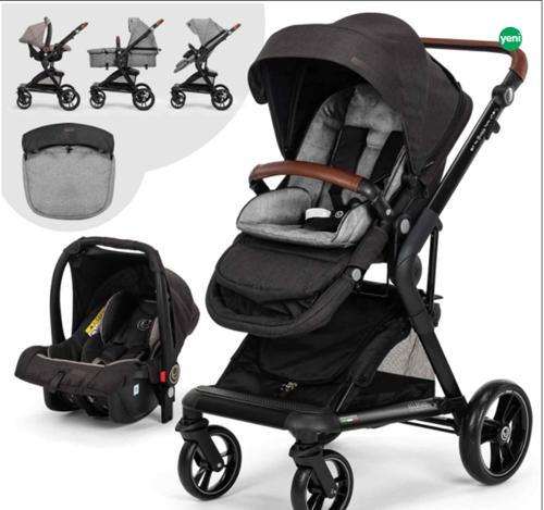 Allroad-2 Travel Sistem Bebek Arabası Siyah - ALLTRVLSYH01 görseli, Picture 1