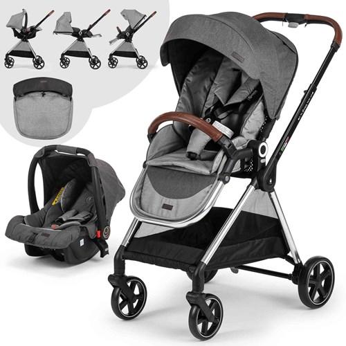 Mido Travel Sistem Bebek Arabası Siyah Gri - MDTRVLSYHGRİ01 görseli, Picture 1