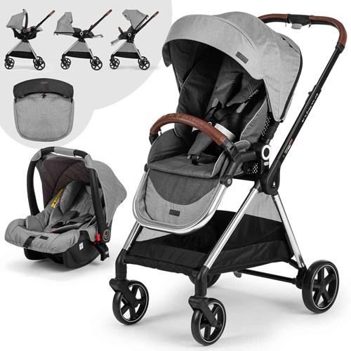 Mido Travel Sistem Bebek Arabası Gri Siyah - MDSYHGRİ03 görseli, Picture 1