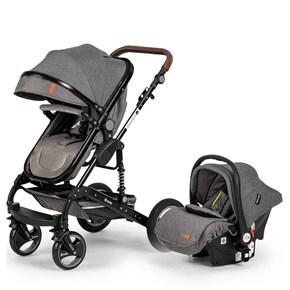 Velar Travel Sistem Bebek Arabası Gri - VLRTRVLGRİ01 görseli
