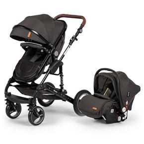 Velar Travel Sistem Bebek Arabası Siyah - VLRTRVLSYH02 görseli
