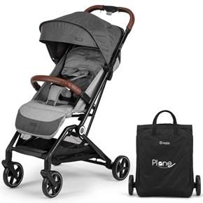 Plane Kabin Tipi Bebek Arabası Siyah Gri - PLNKBNSYHGRİ02 görseli