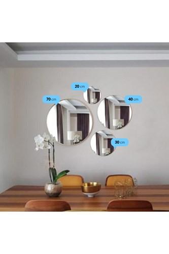 Asu 70 Cm Gold Yuvarlak Ayna- OTTO- ASU- 70 görseli, Picture 3