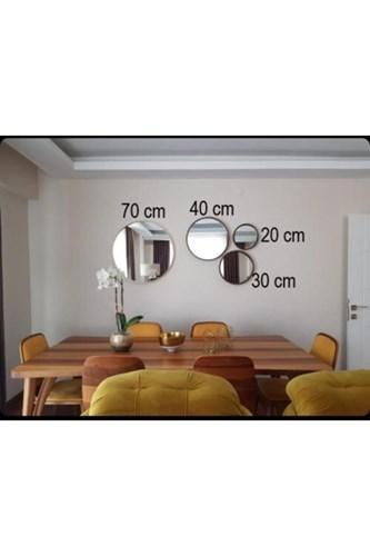 Asu Gold 40Cm Yuvarlak Ayna - OTTO- ASU- 40 görseli, Picture 2