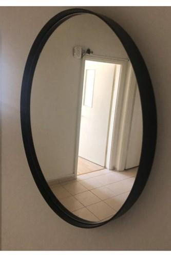 Asu 90 Cm Siyah Yuvarlak Ayna - OTTOASU90 görseli, Picture 3