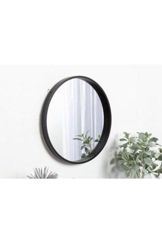 Asu 40 Cm Siyah Yuvarlak Ayna   - OTTOASU40 görseli, Picture 1