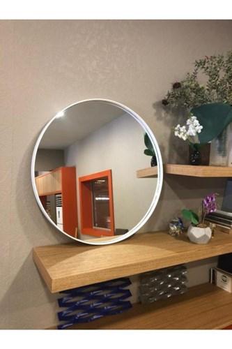 Asu 90 Cm Beyaz Yuvarlak Ayna - OTTO.ASU.90 görseli, Picture 3