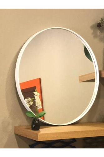 Asu Beyaz Yuvarlak Ayna - OTTO.ASU.50 görseli, Picture 2