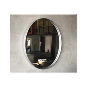Asu 60 Cm Gümüş Yuvarlak Ayna - OTTO_ASU_60 görseli