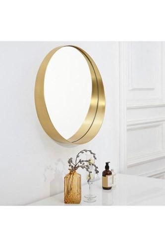Ahu 60 Cm Gold Yuvarlak Ayna - OTTO- AHU- 60 görseli, Picture 1