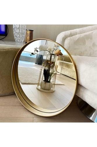 Ahu 60 Cm Gold Yuvarlak Ayna - OTTO- AHU- 60 görseli, Picture 3