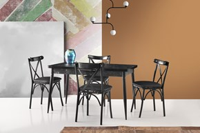 Necoline Metal Otomatik Masa Ekol Sandalye - MO-671-3SYHBYZ görseli