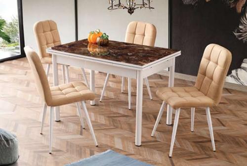 Camlı Polo Masa Elit Metal Sandalye - CR-6401-10 görseli, Picture 4