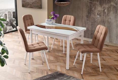Camlı Polo Masa Elit Metal Sandalye - CR-6401-10 görseli, Picture 6