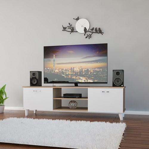 Ardin Tv Sehpa Cordoba Beyaz - ARD601 görseli, Picture 1