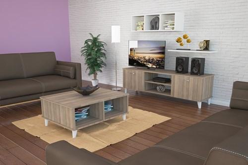 Ardin Tv Ünitesi  3 Lü Set  Cordoba  - ARD606 görseli, Picture 1