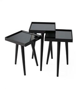Kare Aynalı Zigon Siyah - NV-9910-13-4 görseli
