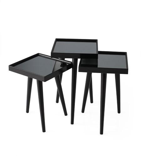 Kare Aynalı Zigon Siyah - NV-9910-13-4 görseli, Picture 1