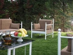 Lalas Dk Minderli Tek Kişilik Bahçe Mobilyası görseli