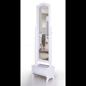 Çekmeceli Boy Ayna Beyaz - AK-654-B görseli