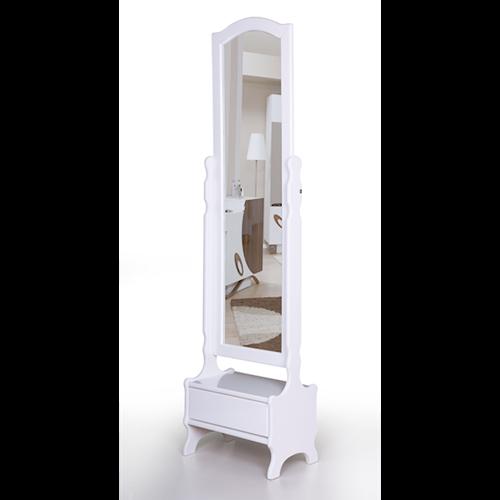 Çekmeceli Boy Ayna Beyaz - AK-654-B görseli, Picture 1