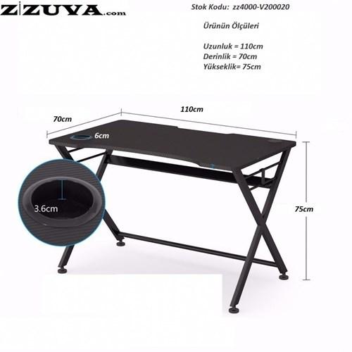 Zizuva Bilgisayar Masası - ZZ3000-V200020 görseli, Picture 3