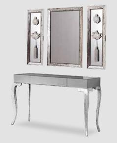 Bronz Üçlü Ayna Seti - GRS-1404 görseli