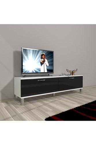 Eko 140 Mdf Std Krom Ayaklı Tv Ünitesi - DA15TV06 görseli, Picture 2