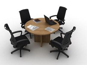 Orange Yuvarlak Toplantı Masası Q120 - ORG0712YM görseli