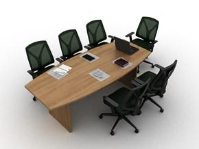 Orange Toplantı Masası 200x100 - ORG0722TM görseli