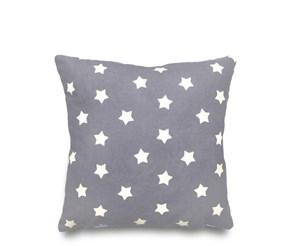 Gri Sevimli Yıldızlar Kırlent-DKRNYGR görseli