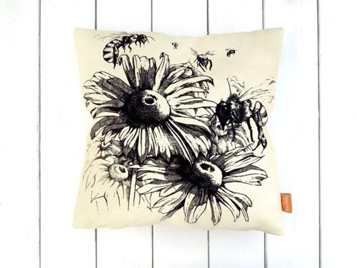 Arılar ve Çiçekler Kırlent -DKRNYARLR görseli, Picture 1
