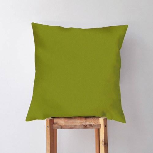 Yağ Yeşili Renkli Dekoratif Kırlent- DKRNYYGYSL görseli, Picture 1