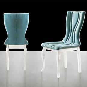 Güz Avangard Beyaz Sandalye - GUZ02BYZ görseli