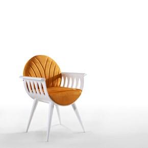 Uhra Beyaz Sandalye - UHR01BYZ görseli