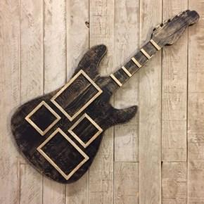 Masif Ahşap Guitar Çerçeve - GUI01CR görseli