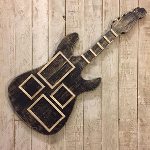 Masif Ahşap Guitar Çerçeve - GUI01CR görseli, Picture 1