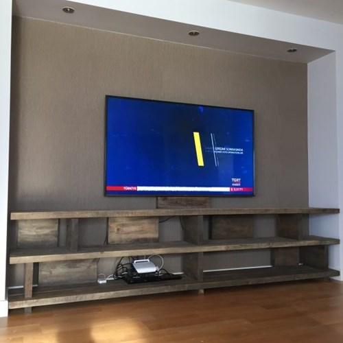 Masif Ahşap Tv Ünitesi Classique - CLA01TV görseli, Picture 2