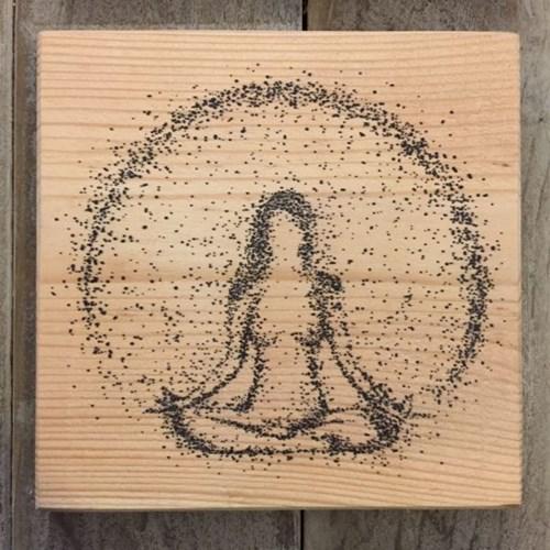 4'lü Yoga Dekoratif Mini Tablo Seti - YOG01TB görseli, Picture 7